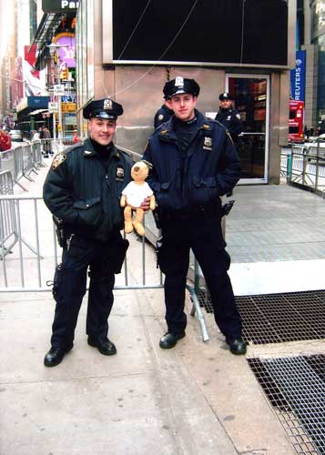 With some help from NYPD